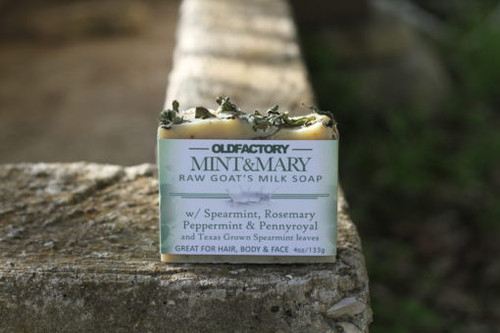 Mint & Mary Goats Milk Soap