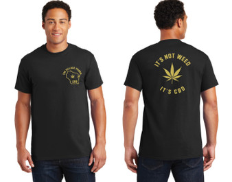 It's not Weed its CBD - T-Shirt (Black)