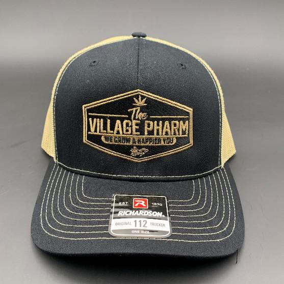 Richardson 112 Hat (Gold/Charcoal)