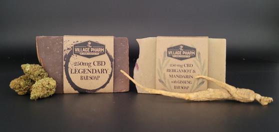 CBD Hand Crafted Bar Soap