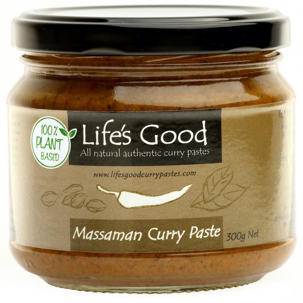 Plant Based Massaman Curry Pastes