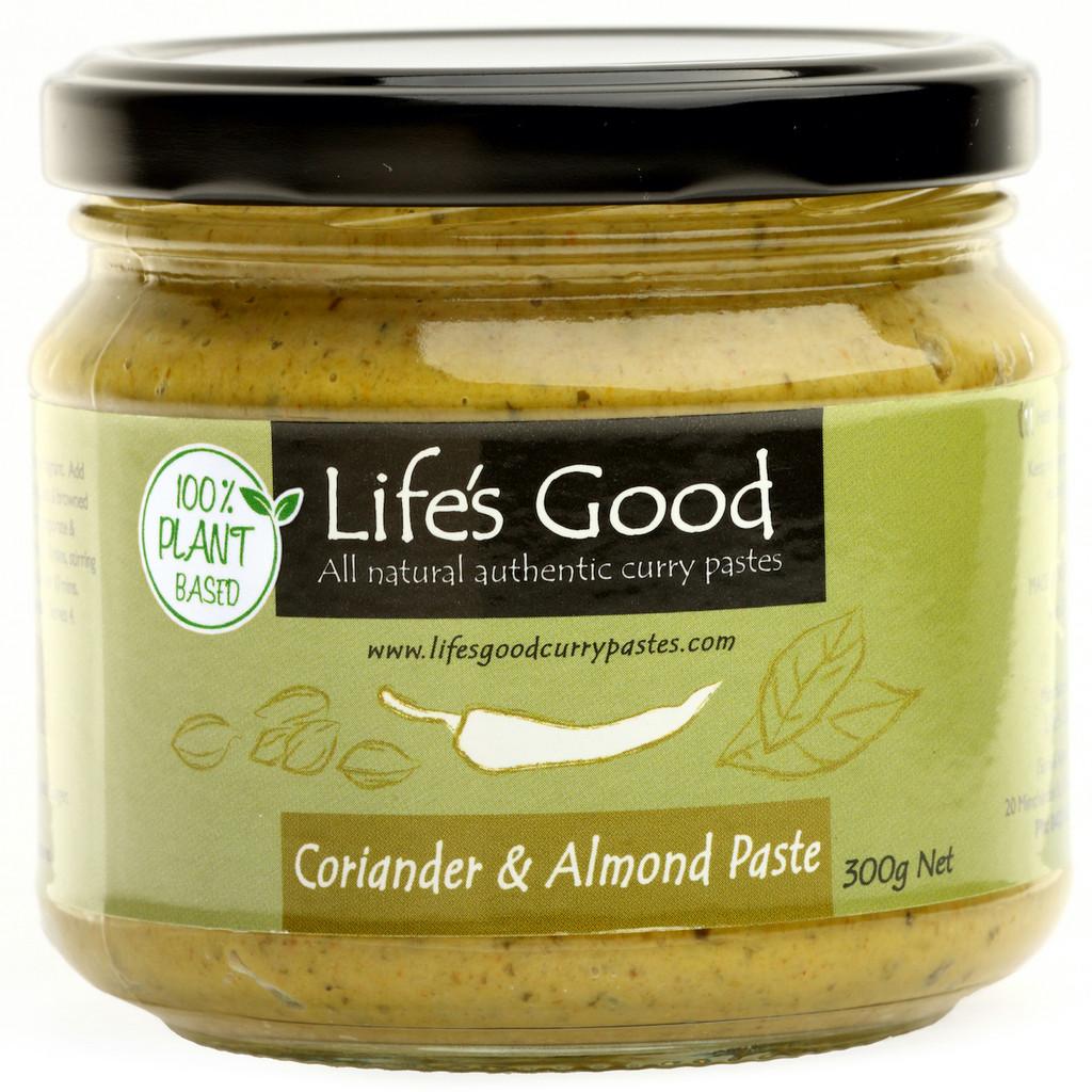 Plant Based Coriander & Almond Paste