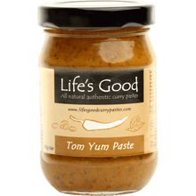 Life's Good Curry Pastes - Product Jar - Tom Yum Paste