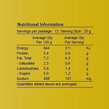 Life's Good Curry Pastes - Nutritional Information - Butter Chicken Paste