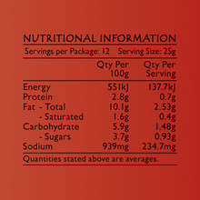 Life's Good Curry Pastes - Nutritional Information - Red Curry Paste