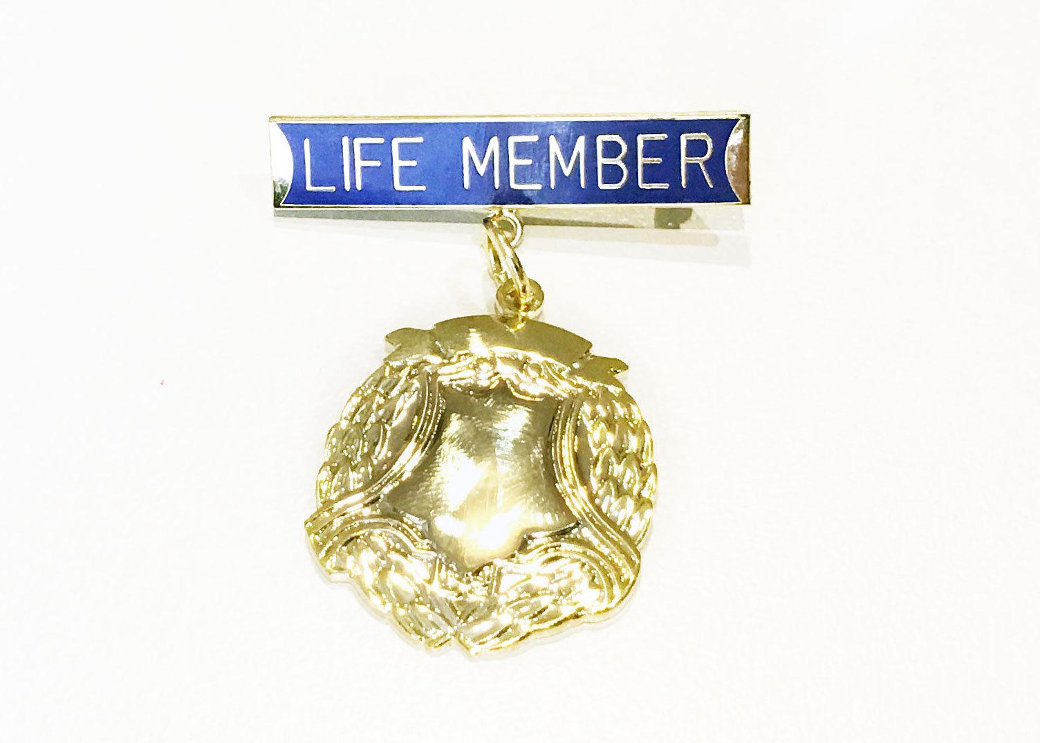 Life Member Badges