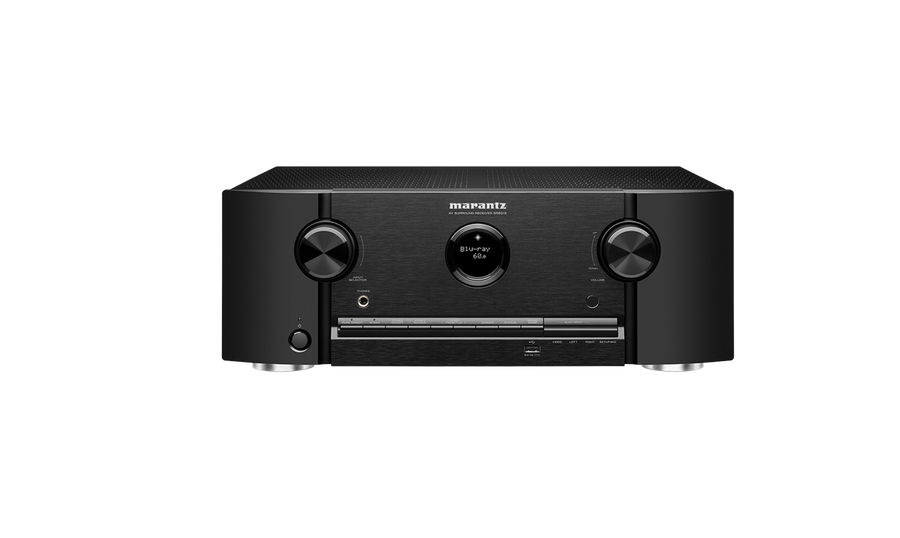 Marantz SR5015 7.2 Channel 8K AV Receiver with HEOS® Built-in and Voice Control front view