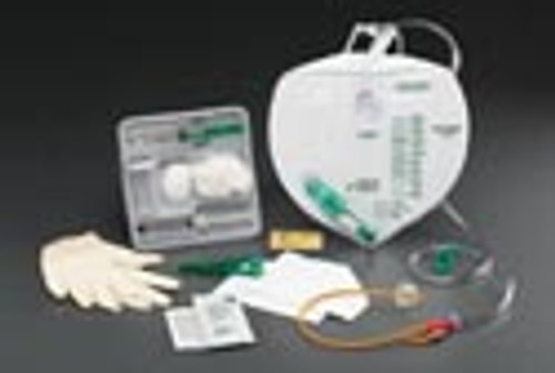 Add-A-Foley Drainage Bag Tray with Anti-Reflux Chamber
