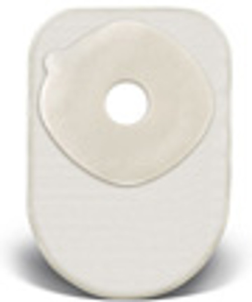 """ActiveLife® 1-Piece Closed-End 8"""" Pouch with 1½"""" Stoma, Transparent"""