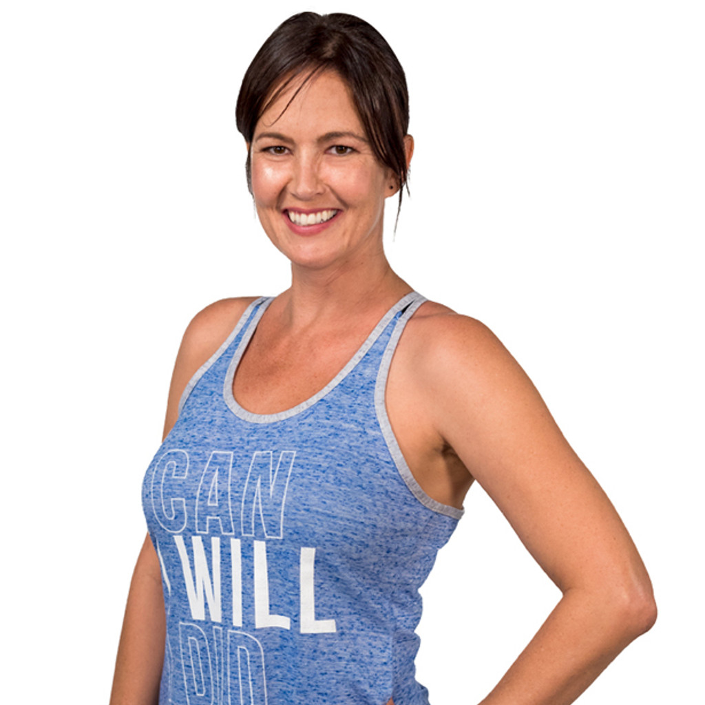 Ladies Advocate Tank Top (Blue)