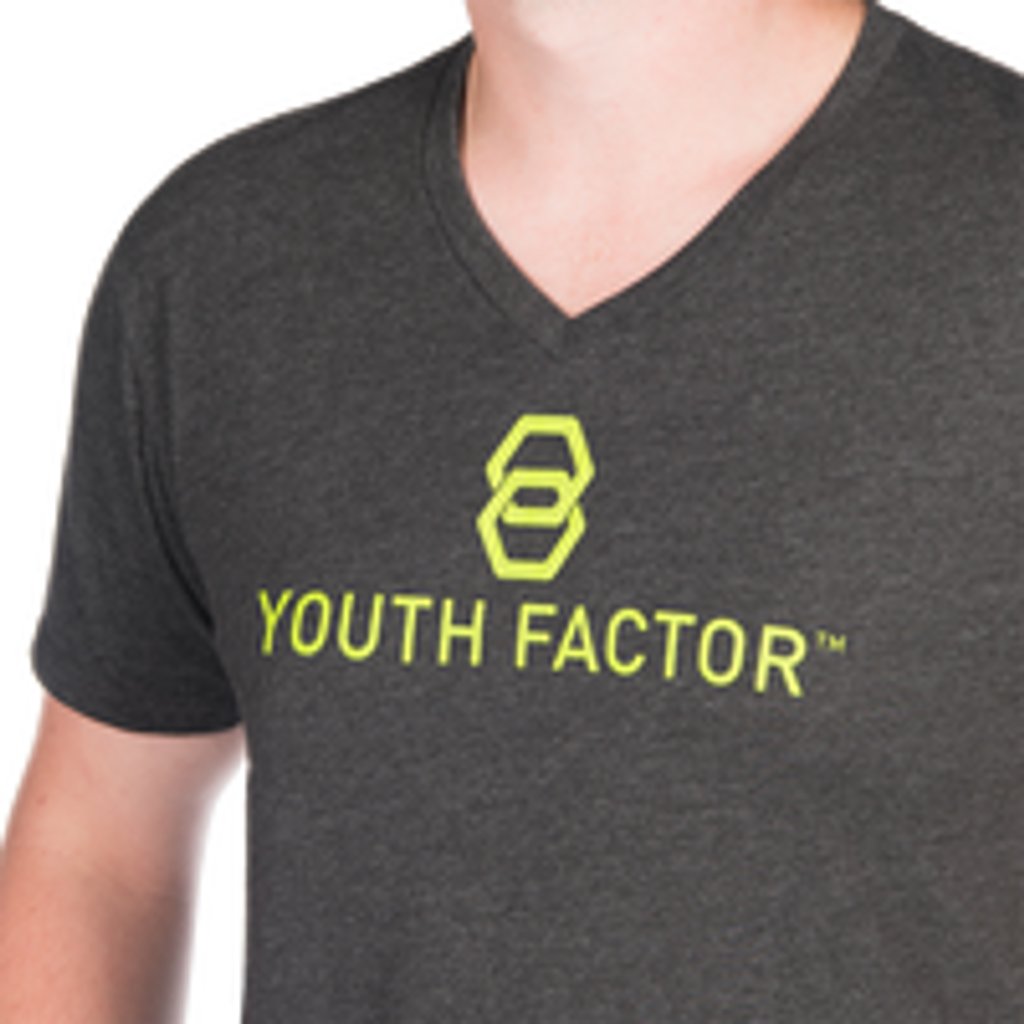 Youth Factor Tee (Dark Gray)