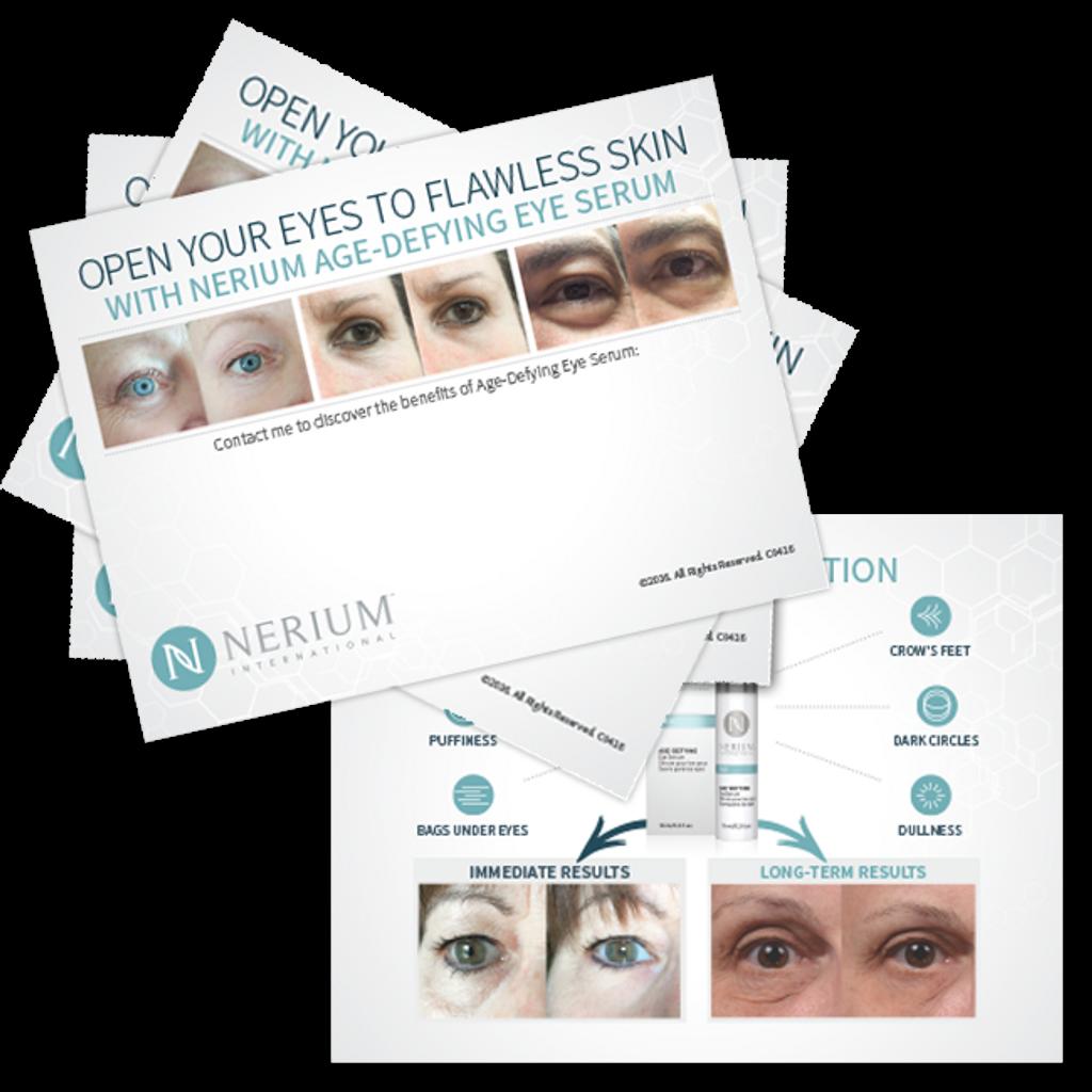 Eye Serum Card  2 packs of 10