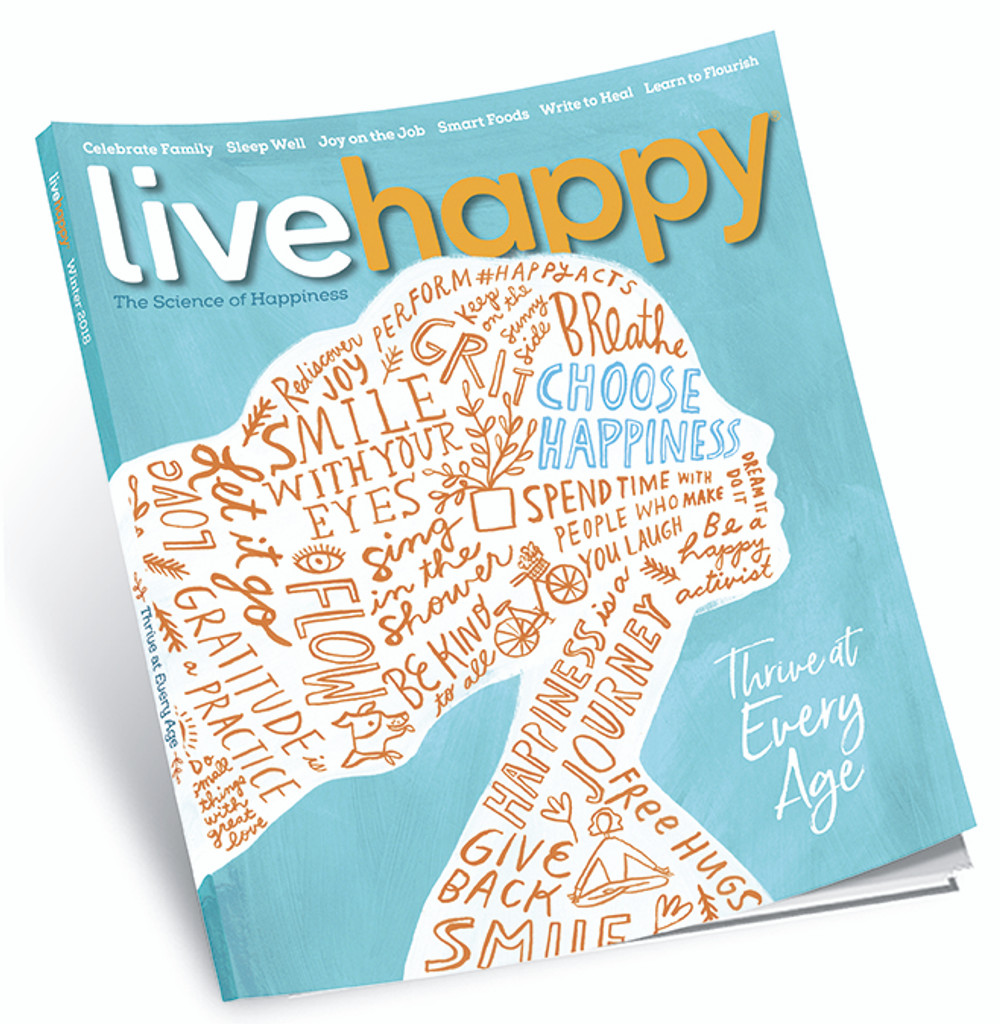 Live Happy Magazine Winter 2018 (Pack of 5)