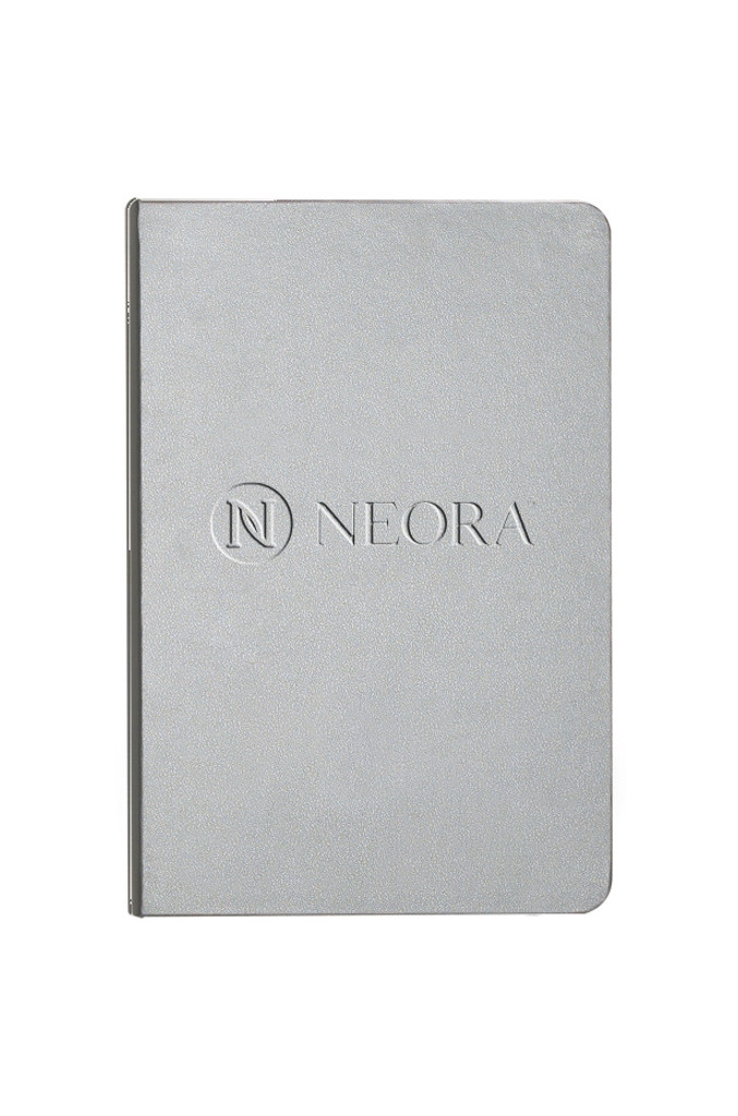 Made of Italian UltraHyde, this notebook features a built in elastic closure, ribbon page marker, document pocket on back cover and 80 sheets of cream lined paper.