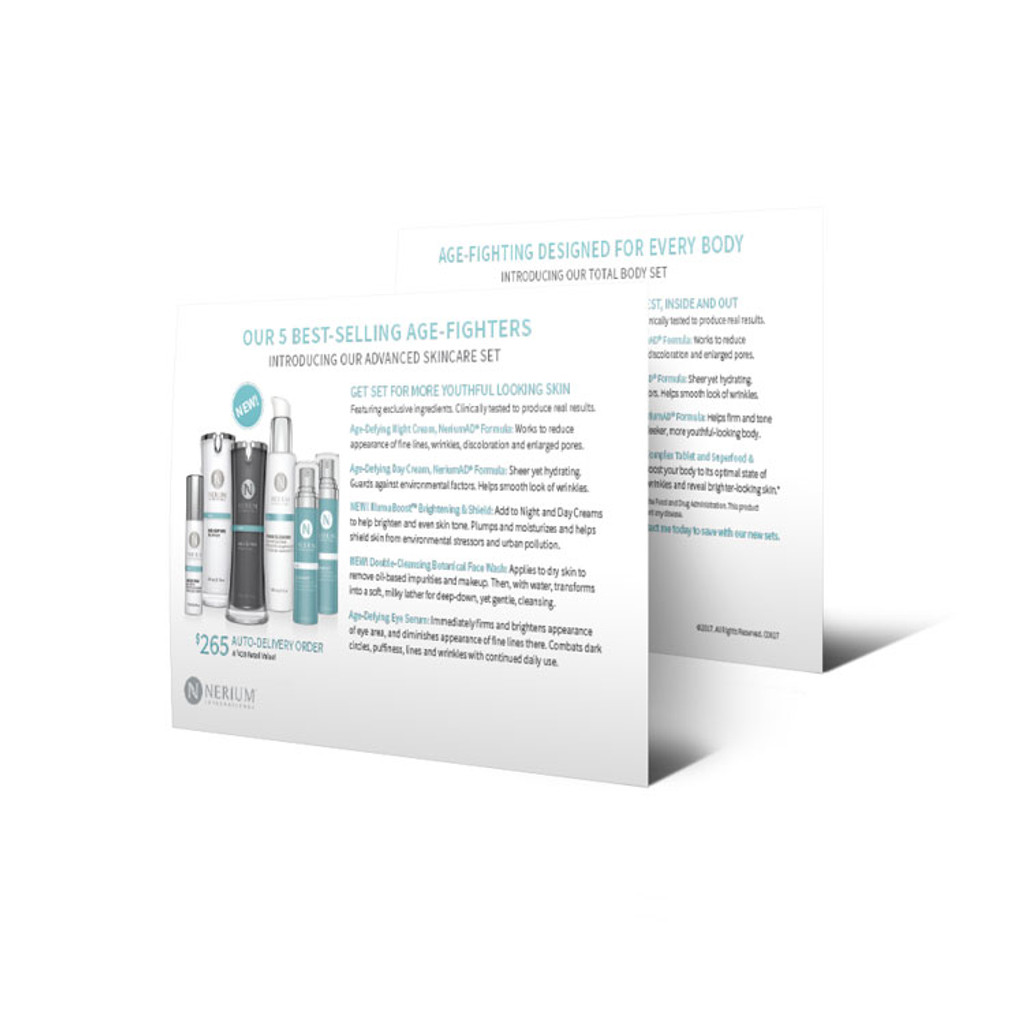 Advanced Skincare Card Pack