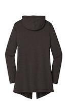 Ladies Hooded Cardigan (Black)