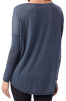 Ladies Long-Sleeve Tunic (Blue)