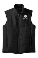 Unisex Puffer Vest (Black)