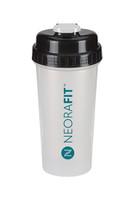 NeoraFit™ Clear Frosted Shaker Bottle (32oz)