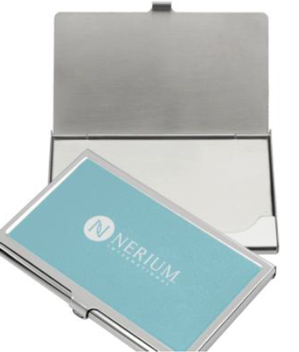 Nerium Business Card Holder