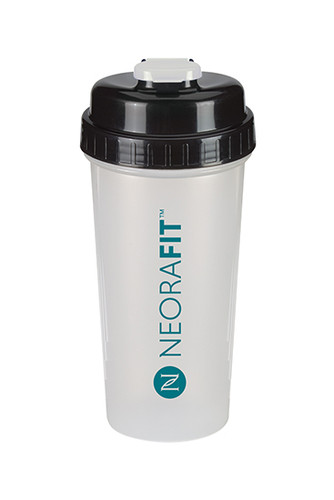 NeoraFit™ Clear Frosted Shaker Bottle (32oz)