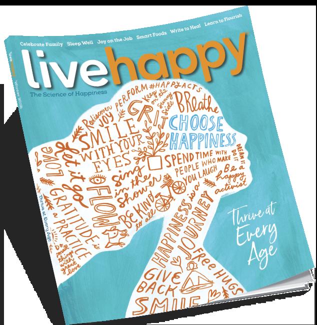 Live Happy Bookazine