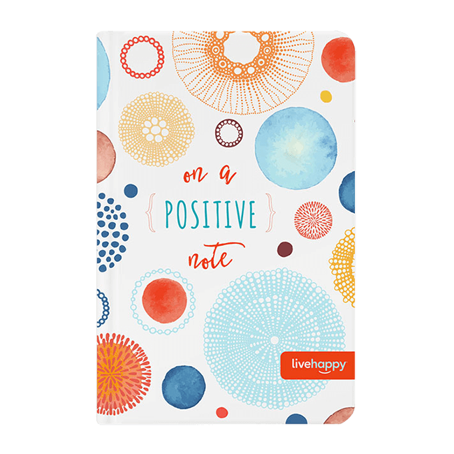 Live Happy Positive Notebook