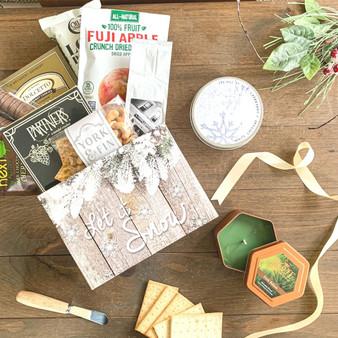 Festive Gourmet Basket Box