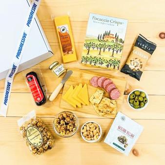 Progressive Branded Charcuterie Board with Snacks (Medium)