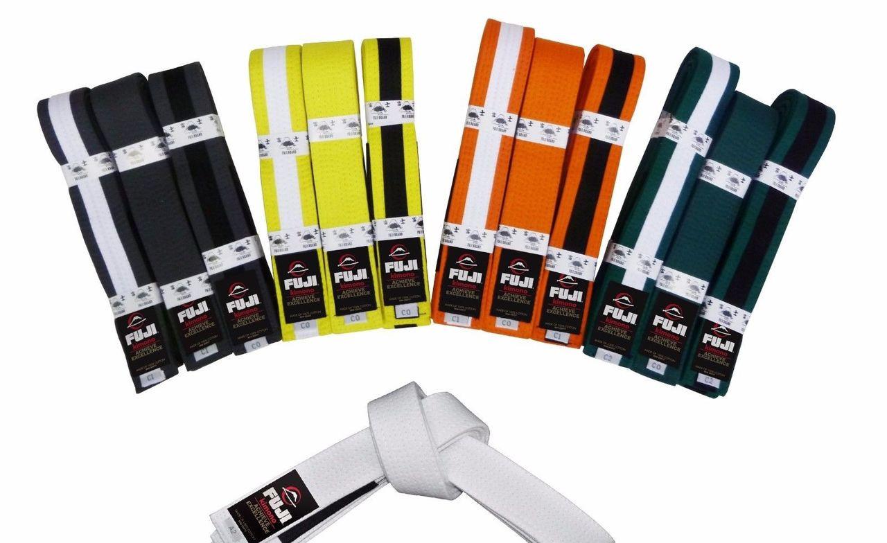 Fuji BJJ Kids Rank Belts