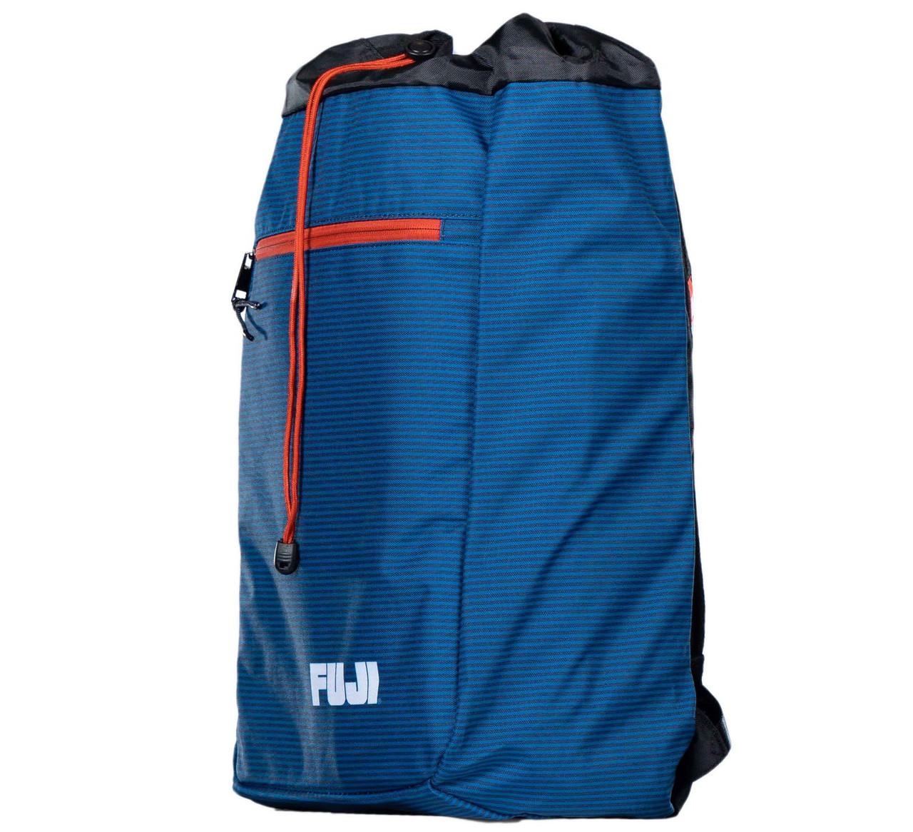 Blue White New Ringside Cinch Sack Backpack Gear Gym Equipment Carry Bag