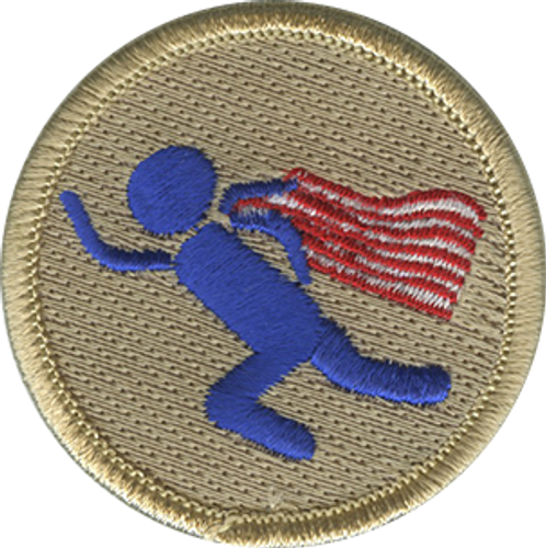 Super Scout Patrol Patch - embroidered 2 inch round