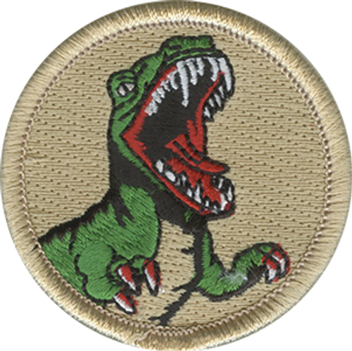 Raptor Scout Patrol Patch - embroidered 2 inch round (New)