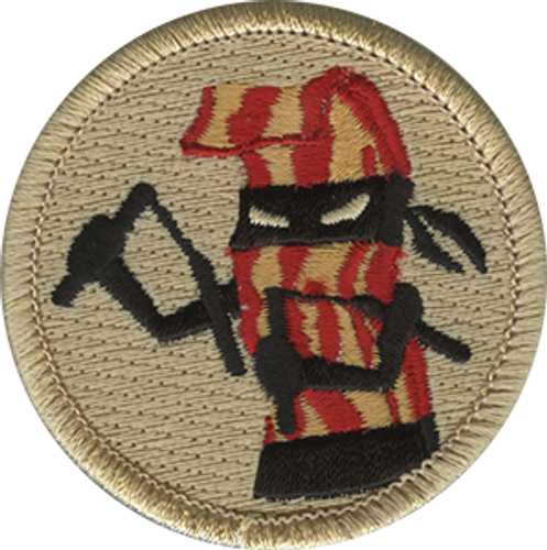 Bacon Ninja Scout Patrol Patch - embroidered 2 inch round
