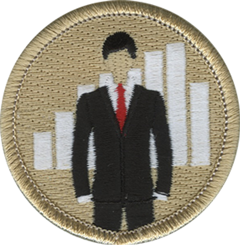 Boss Scout Patrol Patch - embroidered 2 inch round