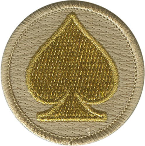 Aces Scout Patrol Patch - embroidered 2 inch round