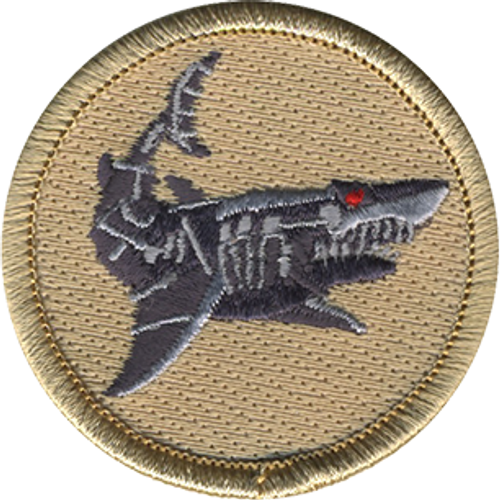 Mechanical Shark Patrol Patch