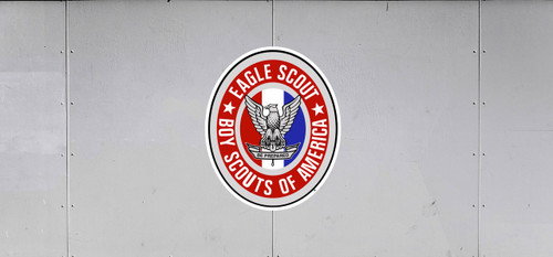 BSA Eagle Scout Trail Graphic with Eagle Scout Logo