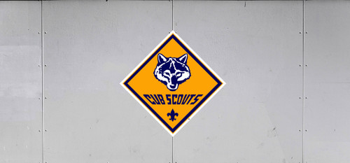 Cub Scout Pack Trail Graphic With Cub Scout Pack Logo