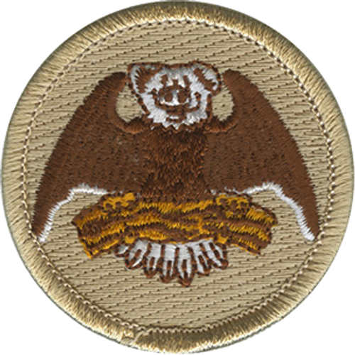 Bacon Eagle Scout Patrol Patch - embroidered 2 inch round