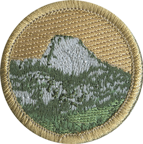 Tooth of Time Scout Patrol Patch - embroidered 2 inch round
