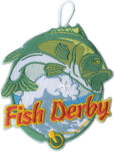 Cub Scout Pack Fishing Derby Patch