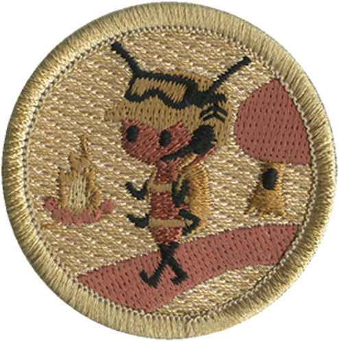 Army Ant Patrol Patch