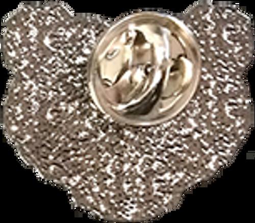Wood Badge Bear Critter Head Pin