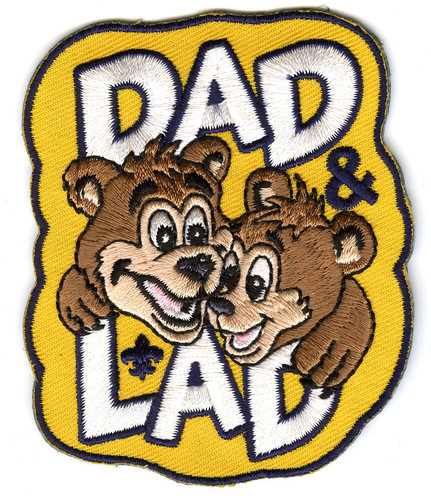 Cub Scout Patch Dad and Lad Patch
