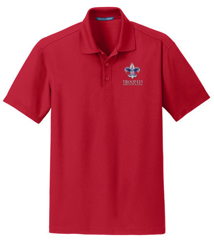Scouts BSA Polo with BSA Corporate Logo