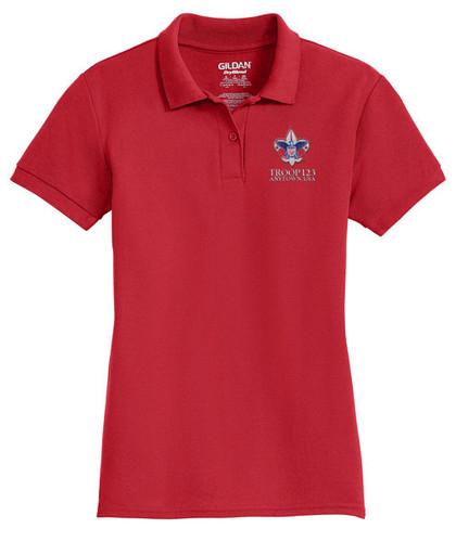 Cotton Pique Polo – Ladies with BSA Corporate Logo