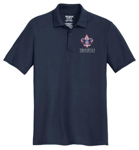 Cotton Pique Polo – Mens with BSA Corporate Logo