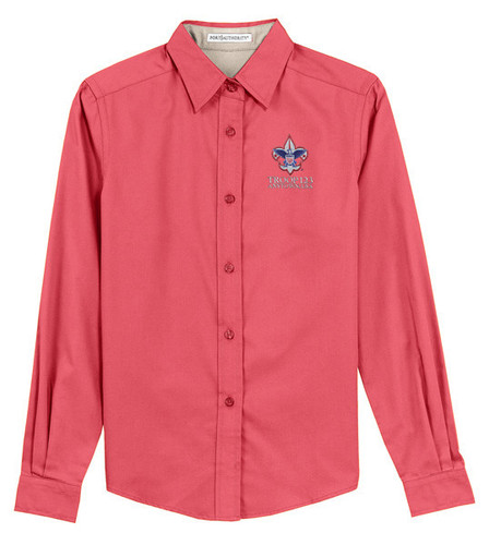 Scouts BSA Ladies Long Sleeve Shirt with BSA Corporate Logo