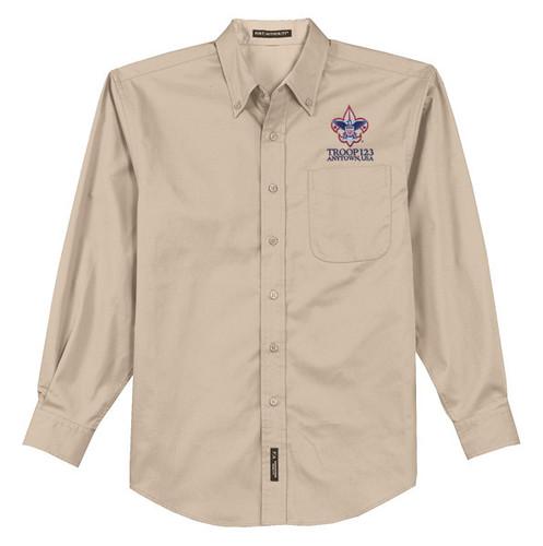 Scouts BSA Long Sleeve Shirt with BSA Corporate Logo